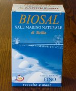 Fine natural sea salt Biosal